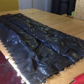 Demo 5′ X 10′ Black Poly Bed