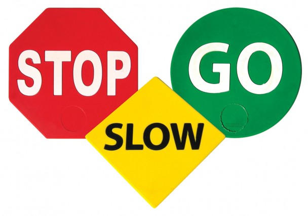 Stop Slow Go Set Of 3 Ross Athletic Supply