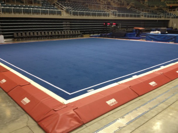 Elite competition border package ross athletic supply for Used gymnastics spring floor