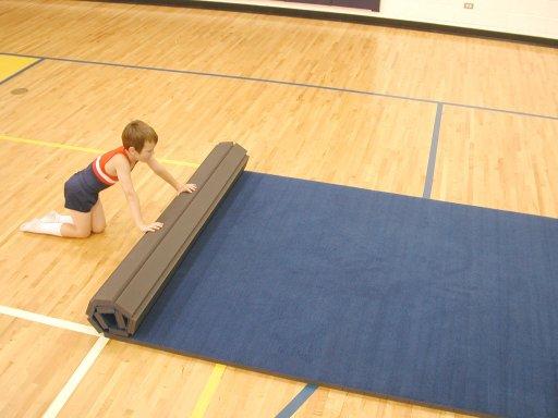 Flexi Roll Carpet Bonded Foam Home Gymnastics Mat Carpet Vidalondon